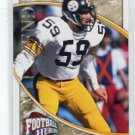 JACK HAM 2009 Upper Deck UD Football Heroes #249 Steelers PENN STATE