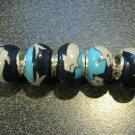 Fimo Bead fits Pandora & Troll S310 Blues & Gray