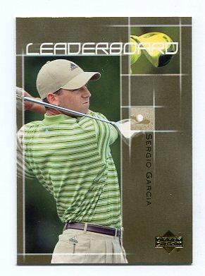 SERGIO GARCIA 2003 Upper Deck UD Leaderboard #61 PGA