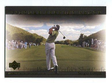 SERGIO GARCIA 2004 Upper Deck UD Picture Perfect Shots #72 PGA