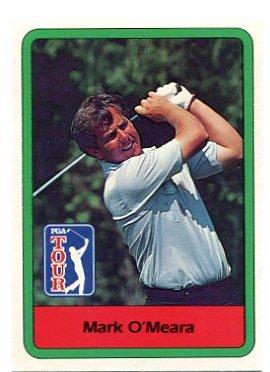 MARK O'MEARA 1982 Donruss #55 PGA ROOKIE