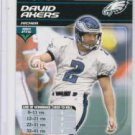 DAVID AKERS 2002 NFL Showdown #243 Eagles KICKERS