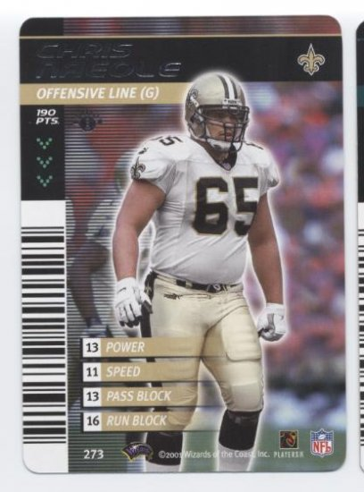 CHRIS NAEOLE 2001 NFL Showdown #273 Saints HAWAII