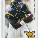 JARRETT BROWN 2010 Sage Hit #16 ROOKIE West Viriginia CHARGERS QB