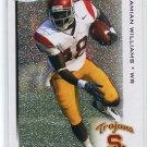 DAMIAN WILLIAMS 2010 Sage Hit SILVER SP #18 ROOKIE USC Trojans TITANS WR