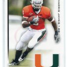 JARVIS JAMES 2010 Sage Hit #30 ROOKIE Miami Canes COLTS RB