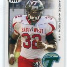 ANDRE ANDERSON 2010 Sage Hit #33 ROOKIE Tulane RAIDERS RB
