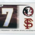 CHRISTIAN PONDER 2010 Sage Hit #37 THE PROGRAM * Florida State Seminoles VIKINGS QB