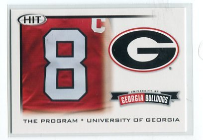 A.J. AJ GREEN 2010 Sage Hit #39 THE PROGRAM * ROOKIE Georgia Bulldogs BENGALS WR