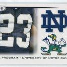 GOLDEN TATE 2010 Sage Hit #44 THE PROGRAM * Notre Dame Fighting Irish SEAHAWKS