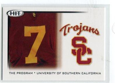 MATT BARKLEY 2010 Sage Hit #48 THE PROGRAM * USC Trojans EAGLES QB
