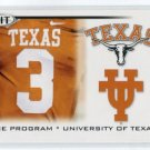 CURTIS BROWN 2010 Sage Hit #48 THE PROGRAM * Texas Longhorns CB Pittsburgh Steelers