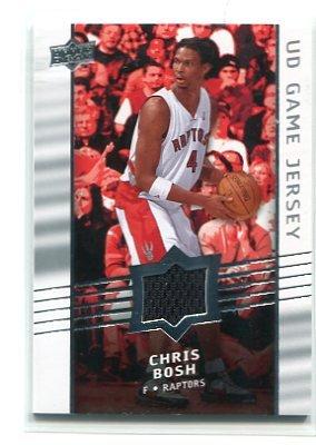 CHRIS BOSH 2008-09 Upper Deck JERSEY Toronto Raptors MIAMI HEAT