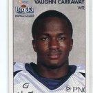 VAUGHN CARRAWAY 2008 Big 33 Pennsylvania High School card TEMPLE OWLS WR
