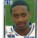DEVON LYONS 2004 Big 33 Pennsylvania High School card OHIO STATE Buckeyes WR