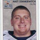 MATT STANKIEWITCH 2008 Big 33 Pennsylvania High School card PENN STATE Nittany Lions OL