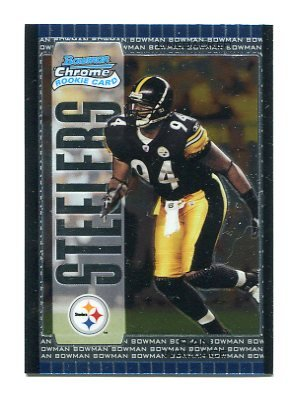 RIAN WALLACE 2005 Bowman Chrome #159 ROOKIE Steelers TEMPLE