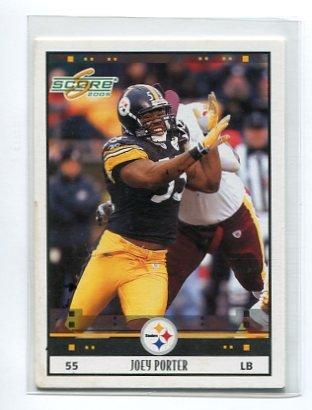 JOEY PORTER 2005 Score #230 Steelers