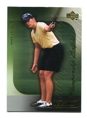 ANNIKA SORENSTAM 2004 Upper Deck Championship Portfolio #42 LPGA