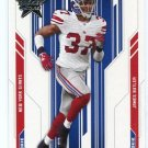 JAMES BUTLER 2005 Leaf Rookies & Stars #174 ROOKIE New York NY Giants