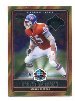 GARY ZIMMERMAN 2008 Topps Chrome Hall of Fame INSERT Denver Broncos