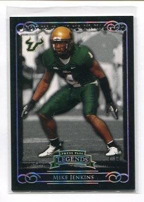 MIKE JENKINS 2008 Press Pass Legends ROOKIE #37 Dallas Cowboys #d/499