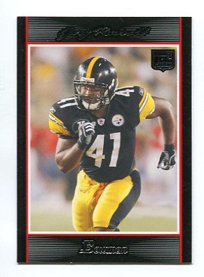 GARY RUSSELL 2007 Bowman #141 ROOKIE Steelers MINNESOTA