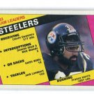 FRANCO HARRIS 1984 Topps TL #159 Steelers PENN STATE Nittany Lions