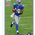 HAKEEM NICKS 2009 Topps ROOKIE #335 New York NY Giants NORTH CAROLINA Tarheels