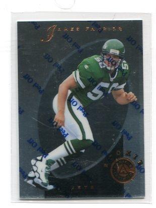 JAMES FARRIOR 1997 Pinnacle Certified #132 ROOKIE Steelers VIRGINIA Cavaliers