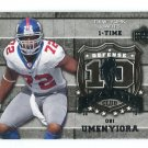 OSI UMENYIORA 2006 Upper Deck UD 10 Sack Club INSERT #10S-OU New York NY Giants