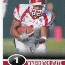 JEROME HARRISON 2006 Sage Hit #41 ROOKIE Cleveland Browns WASHINGTON STATE WAZU Cougars