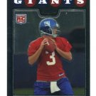 ANDRE WOODSON 2008 Topps Chrome #TC168 ROOKIE Kentucky New York NY Giants QB