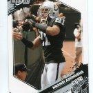NNAMDI ASOMUGHA 2009 Score #216 Oakland Raiders CAL Bears