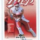 MARC BOERIGTER 2003 Upper Deck MVP #183 Kansas City KC Chiefs WR