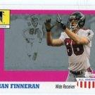 BRIAN FINNERAN 2003 Topps All-American #100 ROOKIE Atlanta Falcons VILLANOVA