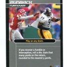 LEVON KIRKLAND 2001 NFL Showdown Action Card STEELERS Clemson Tigers