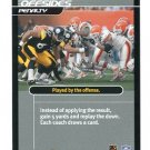STEELERS OFFENSIVE LINE 2001 NFL Showdown Action Card