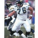 RICH TYLSKI 1997 Pacific Philadelphia #153 ROOKIE Jaguars STEELERS