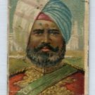 BURMAH 1910 Types of Nations T113 Tobacco Card