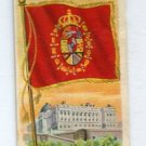 SPAIN ROYAL STANDARD 1910 Types of Nations T113 Tobacco Card