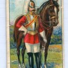 OFFICER LIFE GUARDS, ENGLAND 1909 Military Series T81 Tobacco Card