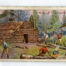 LUMBERMAN'S CAMP 1914 Overseas Dominions (Canada) Tobacco Card