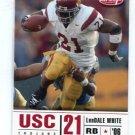 LenDALE WHITE 2006 Sage Aspire #7 ROOKIE USC Trojans TITANS