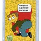WAYLON SMITHERS 2000 The Simpson Anniversary Celebration Premium Trading Cards #29