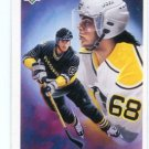 JAROMIR JAGR 1992 Upper Deck UD #16 Pittsburgh Penguins
