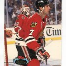 CHRIS CHELIOS 1994 Topps Stadium Club #420 Chicago Blackhawks
