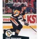 PHIL BOURQUE 1991 Pro Set #189 Pittsburgh Penguins