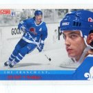 JOE SAKIC 1991 Score The Franchise #366 Quebec Nordiques