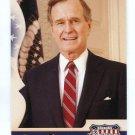 PRESIDENT GEORGE BUSH Sr. 2008 Donruss Americana #189 UNITED STATES OF AMERICA 41st President
